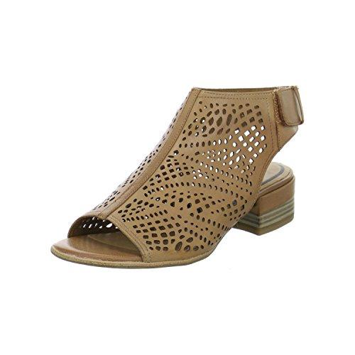 Tamaris Damen Sandaletten 1-1-28217-28/440 Braun 215451 (Front-peep-toe)