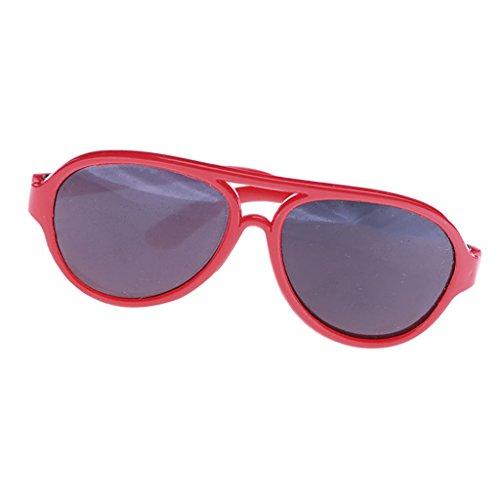 Modische Sechseckige Puppenbrille Gläser Sonnenbrille Für 20-25cm Bjd Puppen & Zubehör