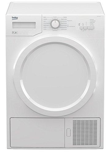 Beko DS7331PA0W Autonome Charge avant 7kg A+ Blanc sèche-linge - Sèche-linge (Autonome, Charge avant, Pompe à chaleur, Blanc, boutons, Rotatif, Droite)