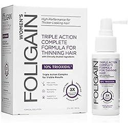 Foligain-Solución de Trioxidil® para mujer anti caída del cabello