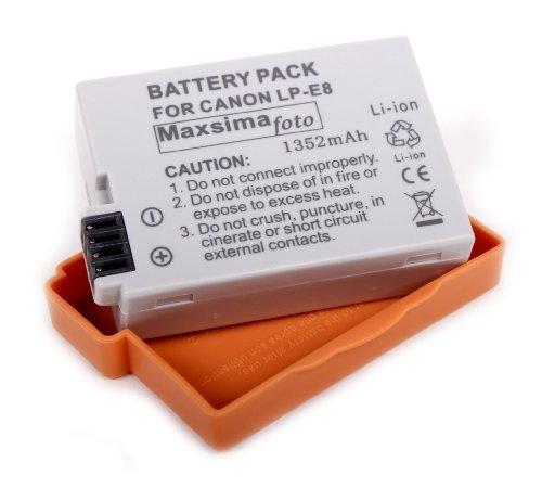 maxsima-1352mah-battery-pack-lp-e8-lpe8-for-canon-eos-700d-650d-600d-550d-eos-rebel-t2i-kiss-x4-t3i-