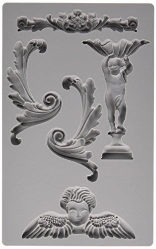 Prima Marketing Hierro Orchid Diseños vintage art Decor-Molde barroco # 5