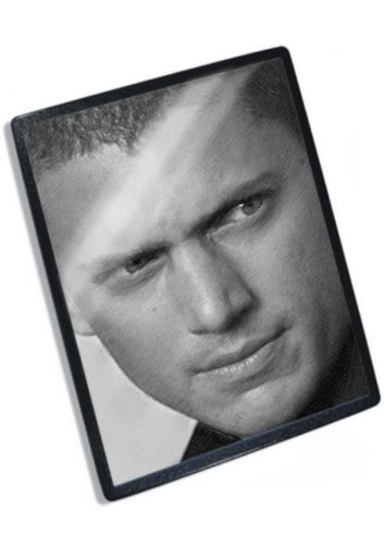 wentworth-miller-original-art-mouse-mat-signed-by-the-artist-js001