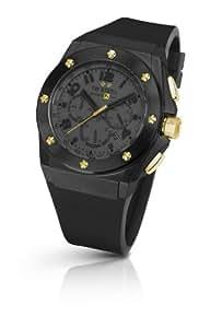 TW Steel - TW-683 - Montre Homme - Quartz Analogique - Cadran Noir - Bracelet Silicone Noir