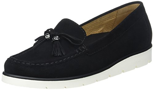 Gabor Shoes Fashion, Mocassins Femme, Noir (Schwarz 17), 42.5 EU