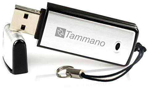Digitales USB-Aufnahmegerät zum Spionieren von Gesprächen (Spy USB Sound Recorder), mit 8 GB Flash-Drive – Eignet sich am besten für Meetings, Präsentationen, Notizen machen – Mac/Windows – Pro Speicherstick – Kein Blinklicht – 96 Std. Tonaufzeichnungen – Ein AN/AUS-Schalter …