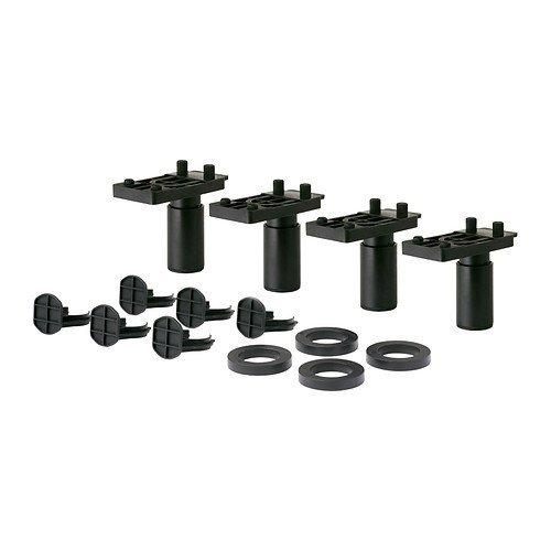 Ikea metod-Bein/4Pack/Paket von 4-8cm Porta-pack-systemen