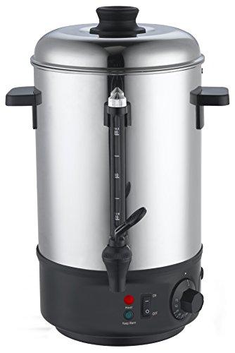 8 Liter Glühweinkocher Glühweinautomat Wasserkocher Kessel Glühweinkessel Kocher 1800 Watt
