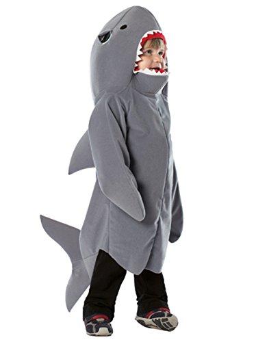 Hai-Kostüm für Kinder - 3-4 Jahre