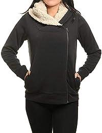 BILLABONG Cocoon Sherpa Jersey, Mujer, Negro (Black 19), Medium (Tamaño del Fabricante:M)