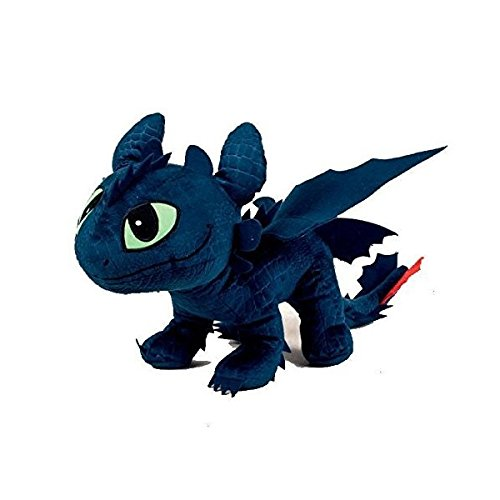 Diverse 208740 - Toothless Toy How to train A Tu Dragon 26 Centimeters