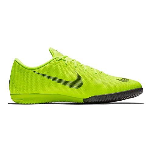 Nike Herren Vapor 12 Academy Ic Fußballschuhe,Grau (Wolf Grey/Lt Crimson-Pure Plat 060),44.5 EU