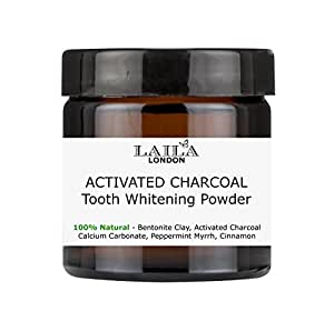 laila london activated charcoal tooth whitening powder 60ml beauty. Black Bedroom Furniture Sets. Home Design Ideas