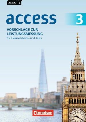 English G Access. Allgemeine Ausgabe Band 3: 7. Schuljahr. Vorschläge zur Leistungsmessung. CD-Extra. CD-ROM und CD auf einem Datenträger