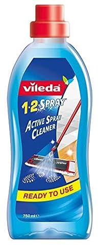 Vileda Ultramat 1-2 Spray Reinigungslösung für Bodenwischer - 0.75L - 2x