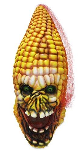 Kostüme Ghoulish (Halloween Mais Maske, Jeasun Scary Masken Latex Zombie Cob Gesicht Maske Gemüse Kopf für Erwachsene für Halloween Kostüm Party Karneval Festival)