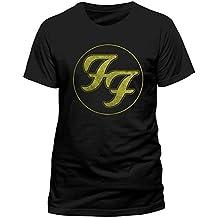 CID Herren T-Shirt FOO FIGHTERS - LOGO IN GOLD CIRCLE