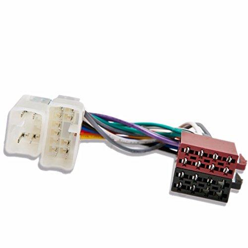 Inex Yaris ab ISO Radio Kabelbaum Adapter Verkabelung Anschluss ix-rh-ty-100