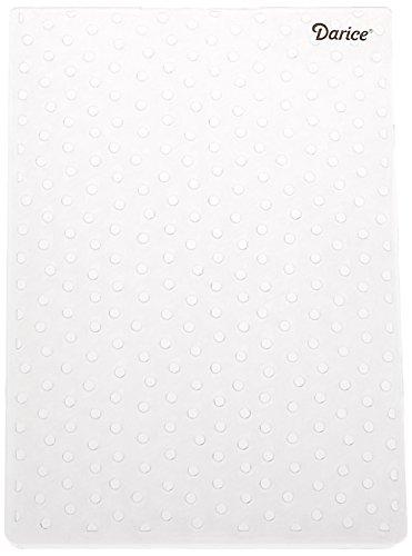 Darice 1217-67  Prägeschablone, Punkt, Plastik, transparent, 12,7 x 17,8 x 0,4 cm Sizzix-stanzformen Für Die Big Shot Pro