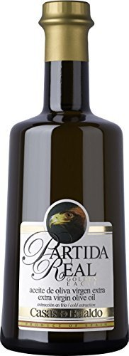 CASAS DE HUALDO - Partida Real Aceite De Oliva Virgen Extra 500Ml - Pack De 12 Botellas
