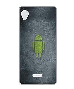 Techno Gadgets Back Cover for Panasonic Eluga A2