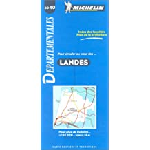 Carte routière : Landes, 4040, 1/150000