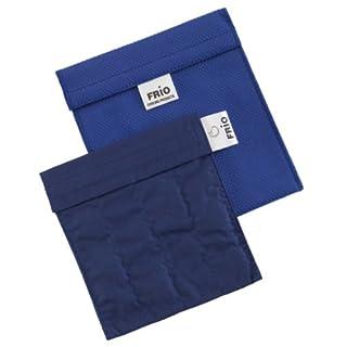 Frio Klein Kühltasche für Insulin, 14 x 15 cm, Blau