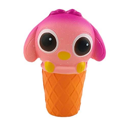 (QHJ Anti Stress Squeeze Spielzeug,Kawaii Party Geschenke für Kinder, langsame Rising Toys Kinderspielzeug für Jungen Mädchen (D))