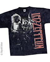 T-Shirt Led Zeppelin - Live - Large - Import Direct USA