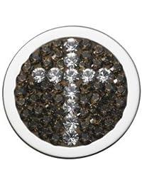 Pavo Real Diam Relleno Cross Gold Crystal 066