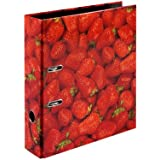 Herlitz 10485126 Folder with Strawberries Motif A4 80 mm Width