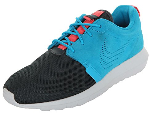 Nike Roshe Nm Fb, Herren Laufschuhe blue lagoon-classic charcoal-pure platinum-brown