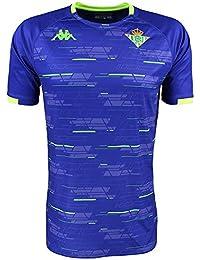 Camiseta de entrenamiento - Real Betis Balompié 2018 2019 - Kappa Aboupre 2  Jersey - 5ae0088ad9517
