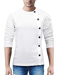 Seven Rocks Regular Fit Men's Cotton T-Shirt (T23)