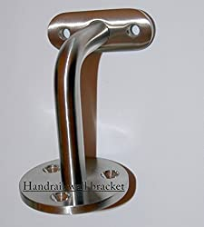 Quality Stainless Steel Handrail Wall Stair Bracket for 42.4mm or 48.3mm Tube (316 External Grade)