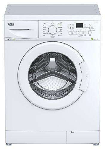 Beko WML 61633 EU Waschmaschine FL / A+++ / 150 kWh/Jahr / 1600 UpM / 6 kg / Display / weiß / Super Express 14 / Baby Protect-Programm / Unwuchtkontrolle / Mengenautomatik / Reversierautomatik