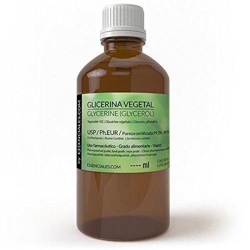 Glicerina vegetal - Glycerin - De máxima pureza, garantizada: min 99,5% hasta el 99,9%. También conocido como Glicerol, Glicerina, Propanotriol, 1,2,3-Propanotriol o 1,2,3-Trihidroxipropano. Es un líquido espeso, neutro, de sabor dulce, que al enfria...