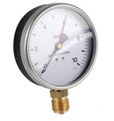 Générique - Manomètre rond - 0 à 10 bars diamètre 100mm M1/2