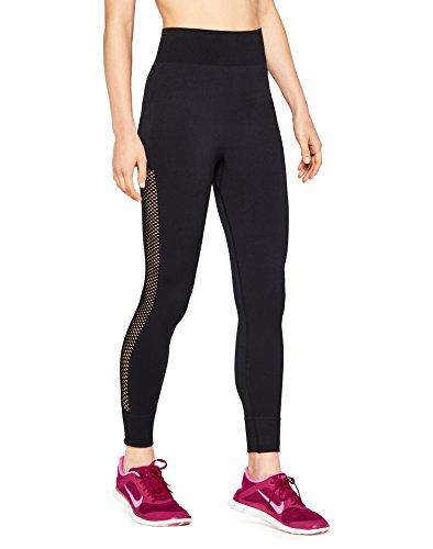 AURIQUE Damen Sportleggings, Schwarz (Black), 42 (Herstellergröße: XL)