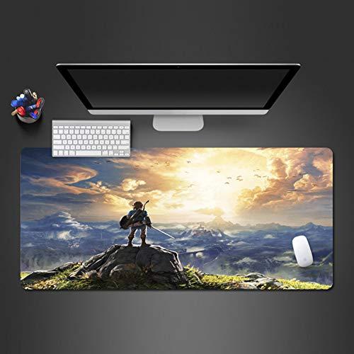 Mit blick auf die vision mauspad beste schöne mauspad tastatur mode computer mauspad laptop spiel pad 3mm * 80x30 cm
