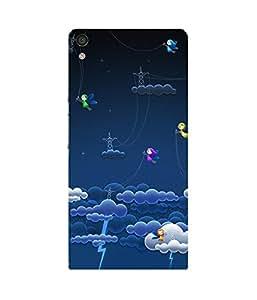 Cloud Lightnings Huawei Ascend P6 Case