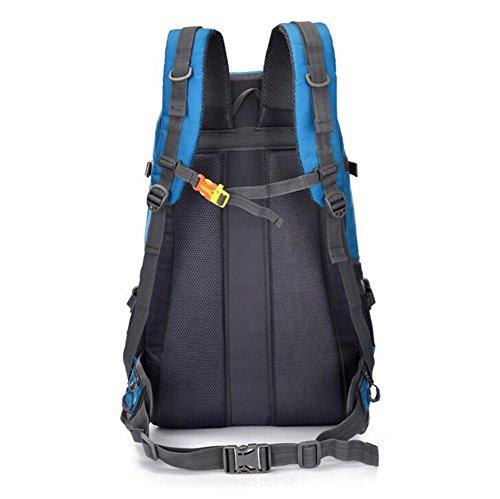 SZH&BEIB Outdoor-Rucksack Große Kapazität 55L Bergsteigen Tasche Männer und Frauen Reisen Wandern Camping Sportpaket A