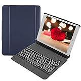 VBESTLIFE Ultraleichte Tragbare Drahtlose Bluetooth 3.0 Tastatur,Wasserdichte Externe Tastatur für iPad 9.7(Blau)