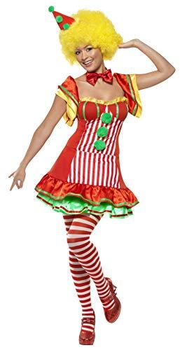 Smiffys Boo Boo Der Clown mit Kleid und Hut auf Haarreifen, ()