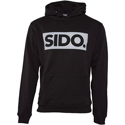 Sido Mein Block Mask HOODY Schwarz S (Hoody Sweatshirt Block)