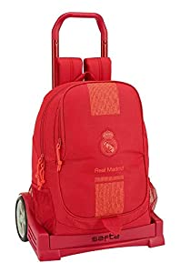 Real Madrid CF- Real Madrid Trolley, Color Rojo (SAFTA 611957860)