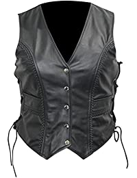 wholesale dealer 23cf3 3735c Amazon.it: gilet pelle - Donna: Abbigliamento