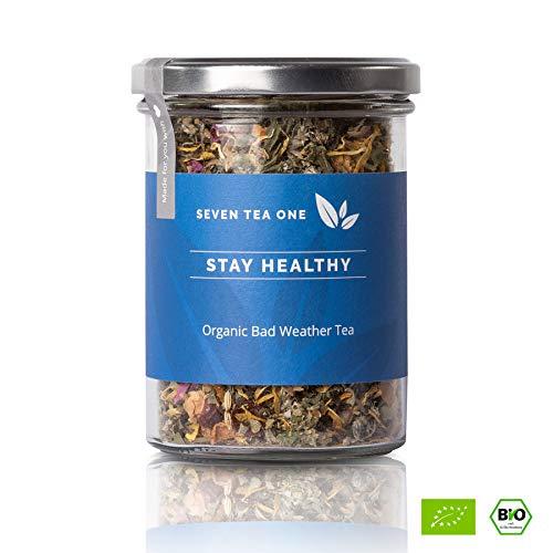 Stay Healthy Erkältungs-Tee - Abwehrkräfte-Booster - Tee für die kalte Jahreszeit - Gute-Besserung-Tee - BIO-zertifiziert - 75g -