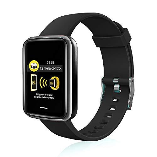 Chriffer Smartwatch, Orologio Intelligente Fitness Tracker Pedometro,...