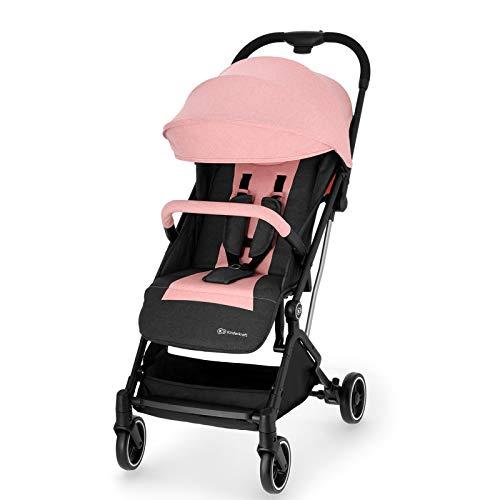 Kinderkraft Silla de Paseo Bebé INDY, Plegable, Impermeable, Hasta 15 kg, Rosa